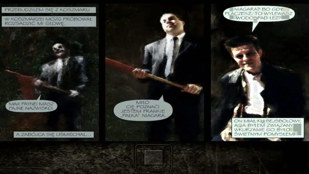 Max Payne 1 komiks