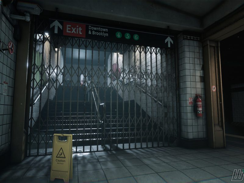 Max Payne metro grafika