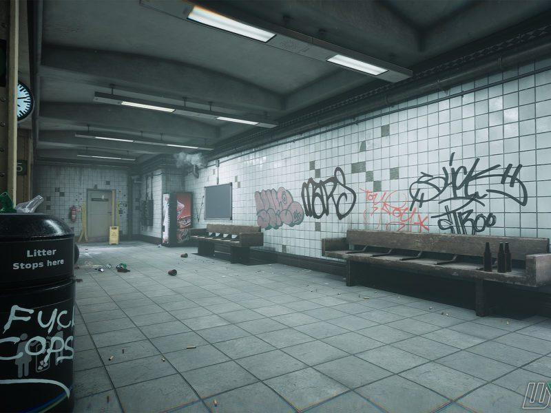 Metro w Max Payne