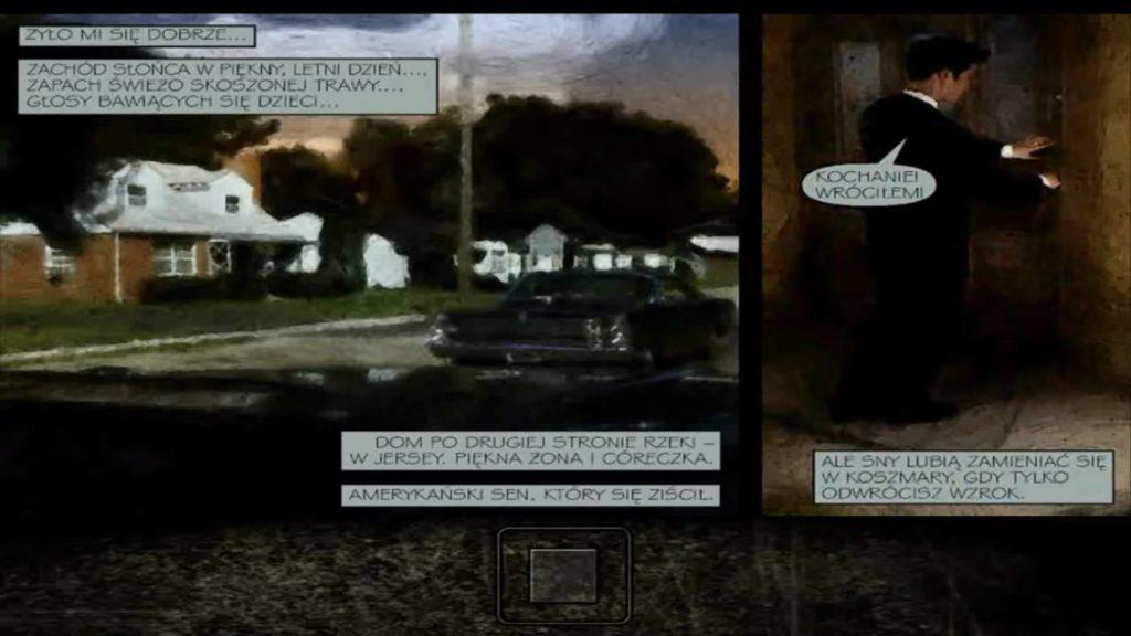 Max Payne komiksowy przerywnik