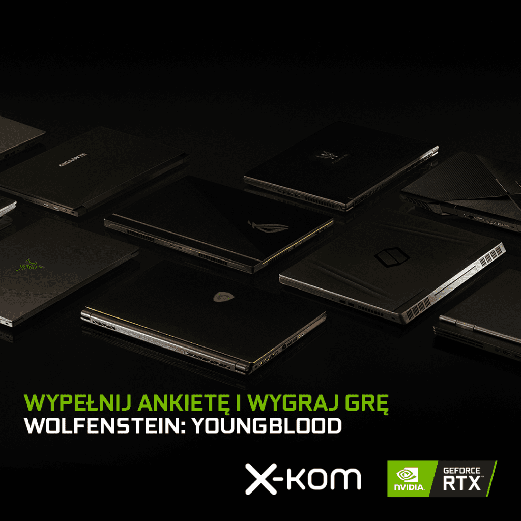 Ankieta NVIDIA do wygrania gra Wolfenstein II