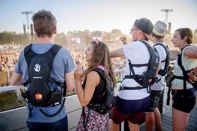 Pol'and'Rock Festival plecak dla niesłyszących