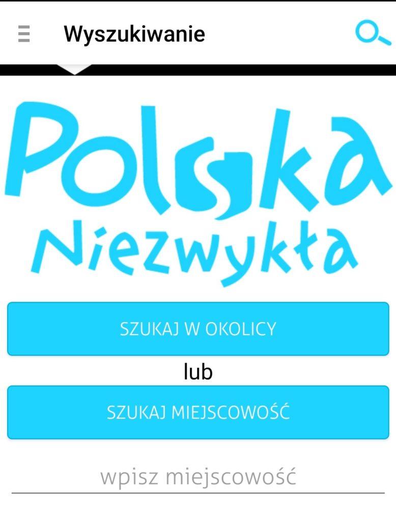 polska niezwykła aplikacja turystyczna geex