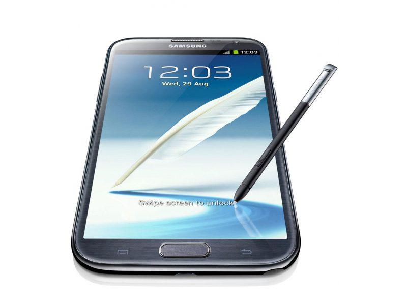 Galaxy Note II wyświetlacz i rysik