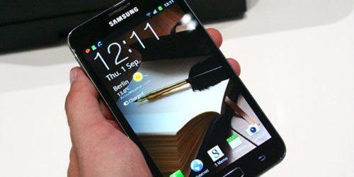 Samsung Galaxy Note – pierwszy tego imienia