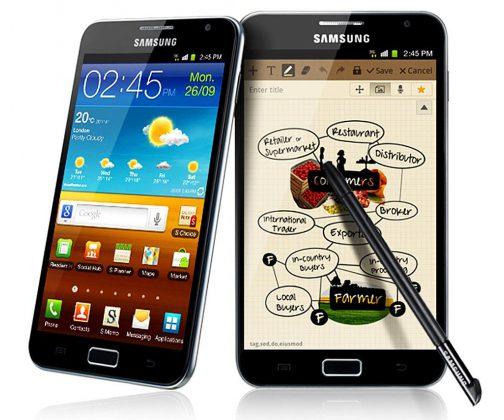 Pierwszy Samsung Galaxy Note