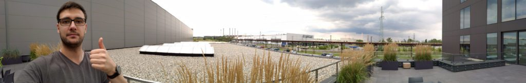 Asus Zenfone 6 panorama z wykorzystaniem obracanej kamerki