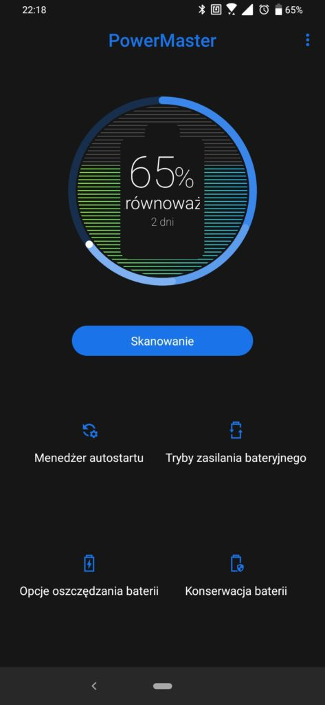 Asus Zenfone 6 powermaster aplikacja