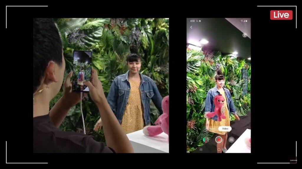 Josh prezentuje nagranie z wykorzystaniem funkcji skanowania 3D w Galaxy Note 10+
