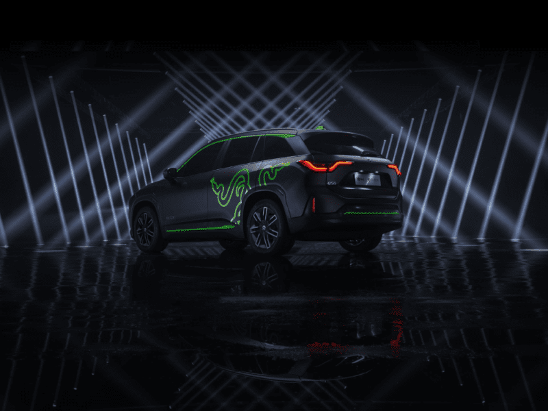 Razer znów zaskakuje. Poznajcie ES6 Night Explorer – pierwszy elektryczny SUV z oświetleniem Chroma RGB