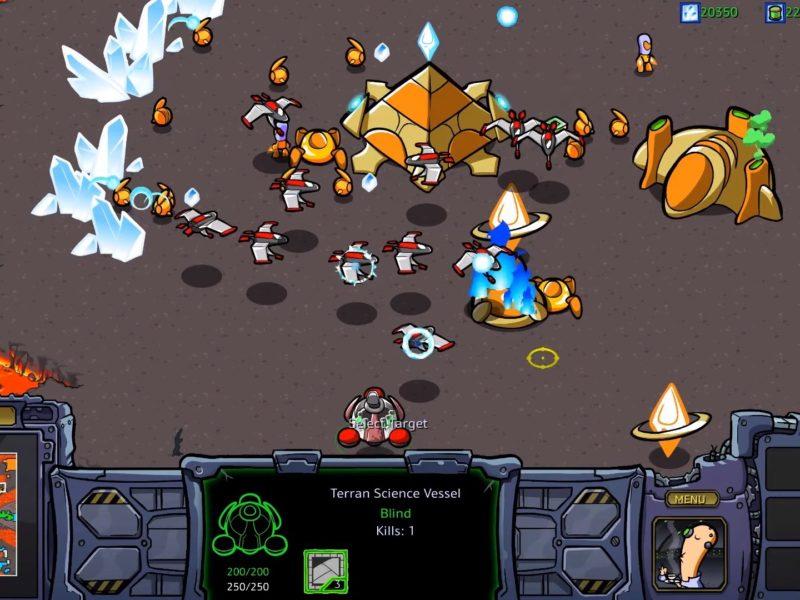 StarCraft: Cartooned, czyli grywalny świat Blizzarda w bajkowej odsłonie