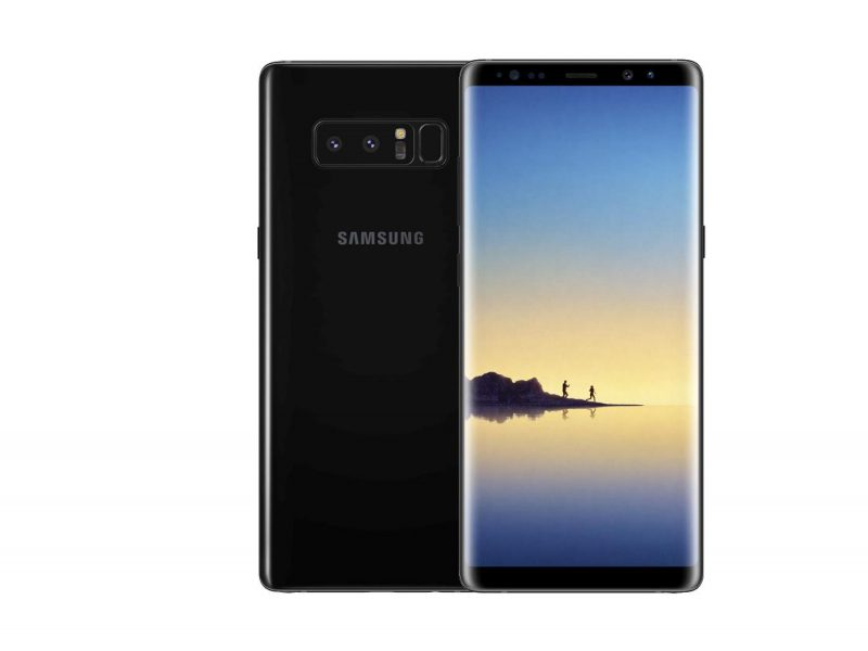 Galaxy Note 8 ekran Super AMOLED