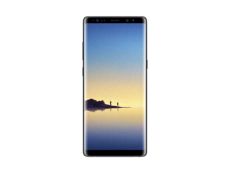 Galaxy Note 8 wyświetlacz