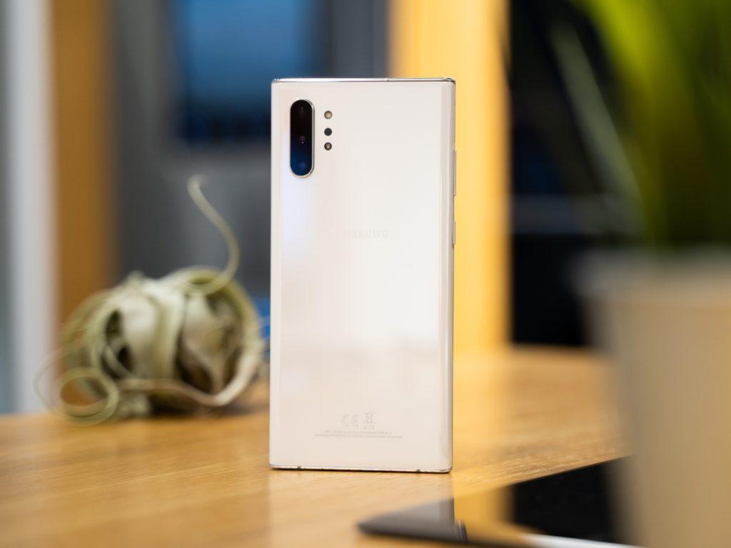 Galaxy Note 10+ biały apaaraty