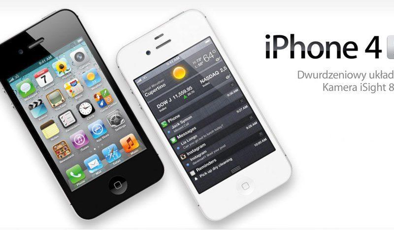 iPhone 4S. Pozornie niezmieniony, lecz jakże odmienny