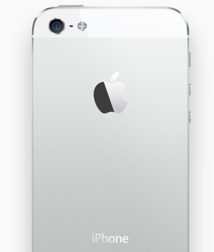 iphone 5 tył isight