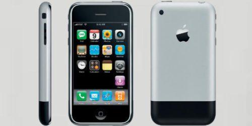 iPhone 2G. Pierwszy smartfon bez klawiatury od Apple