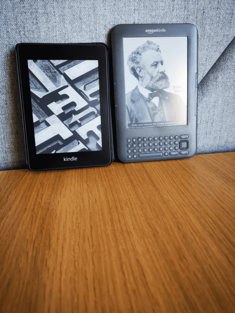 Kindle Keyboard vs Kindle Paperwhite 4