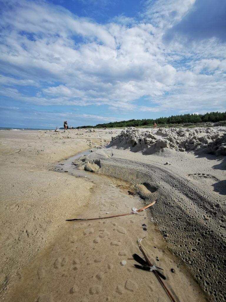 Huawei Mate 20 zdjęcie plaży