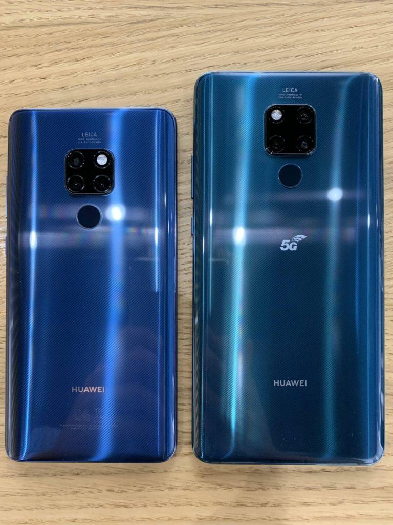 Huawei Mate 20x porównanie z Mate 20