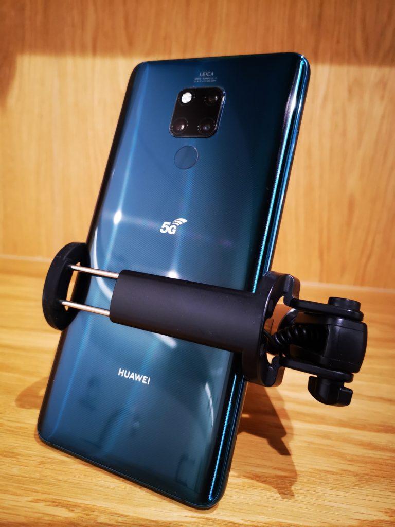 Huawei Mate 20x w selfie sticku