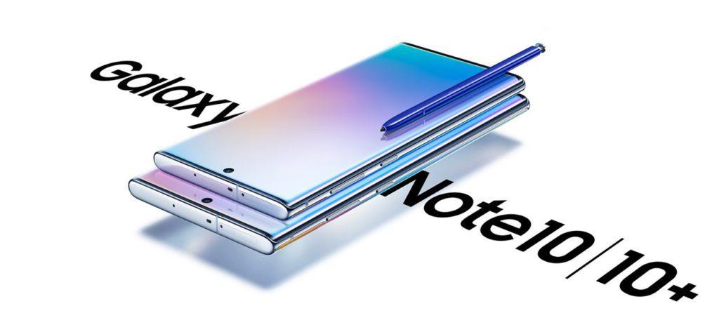 Galaxy Note 10 i Galaxy Note 10+