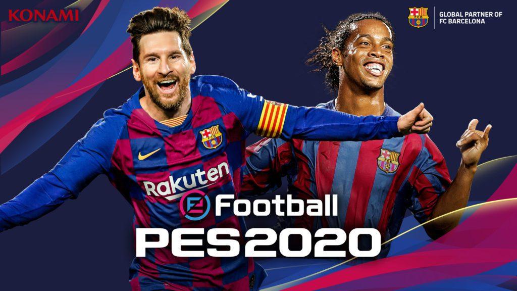 efootball pes 2020 Leo Messi, Ronaldinho