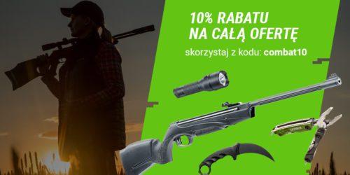 Do 7 września 10% rabatu na cały asortyment combat.pl