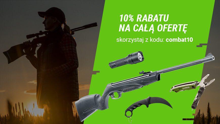 10% rabatu na całą ofertę Combat