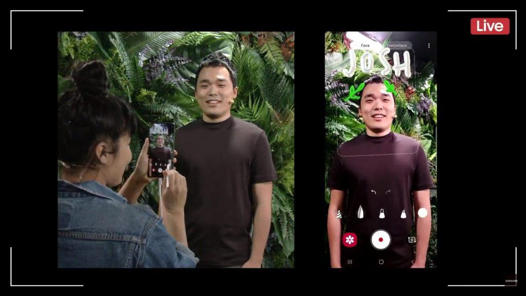 sha'an d'anthes nakład filtry na zdjęcie wykonywane Samsungiem Galaxy Note 10