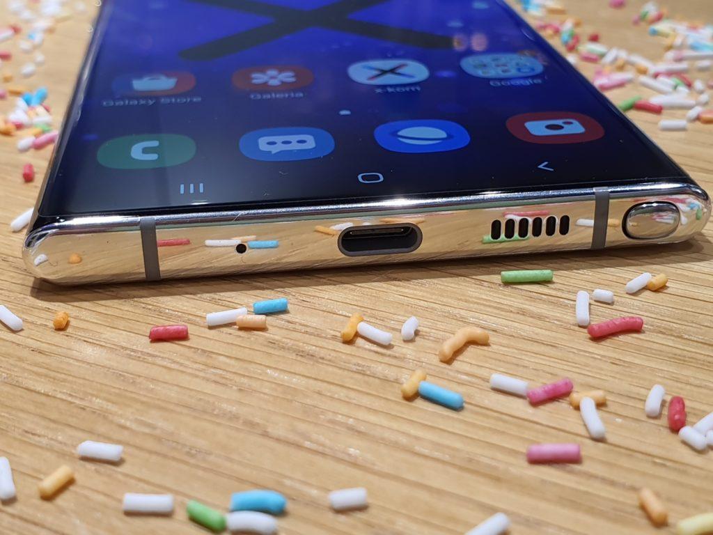 głośnik Galaxy Note 10