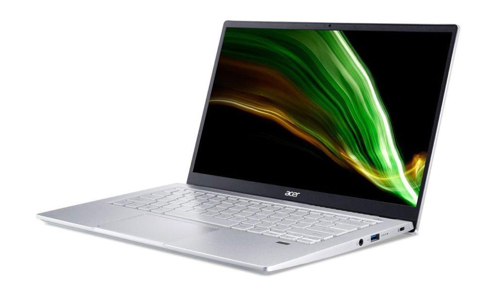 Acer Swift 3 R5-5500U/16GB/512/W10 Srebrny