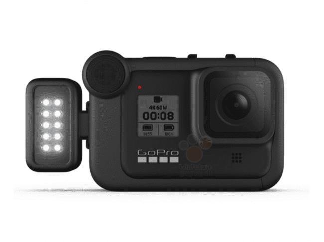 GoPro HERO 8 z lampą LED