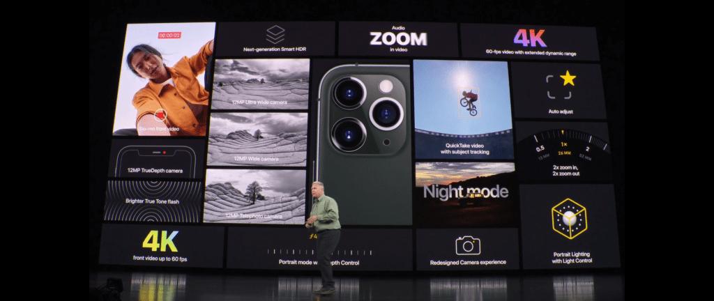 Aparat iPhone 11 Pro
