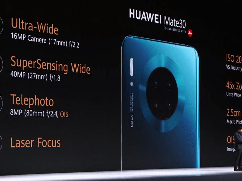 Premiera Huawei Mate 30. Cena, specyfikacja, aparat – wszystko już oficjalnie