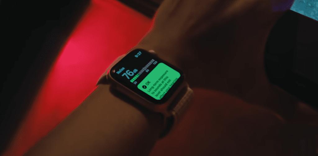 Apple Watch Series 5 aplikacja Noise