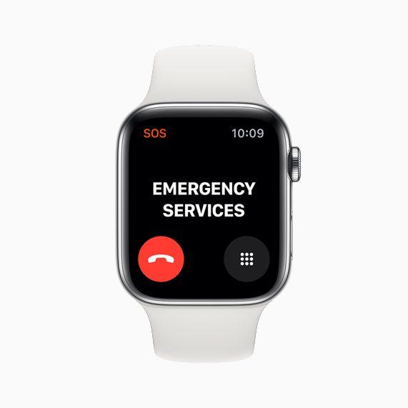 Apple Watch Series 5 SOS