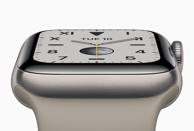 Apple Watch Series 5 tytan