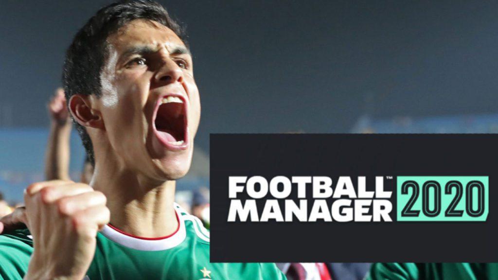 Football manager 2020 okładka