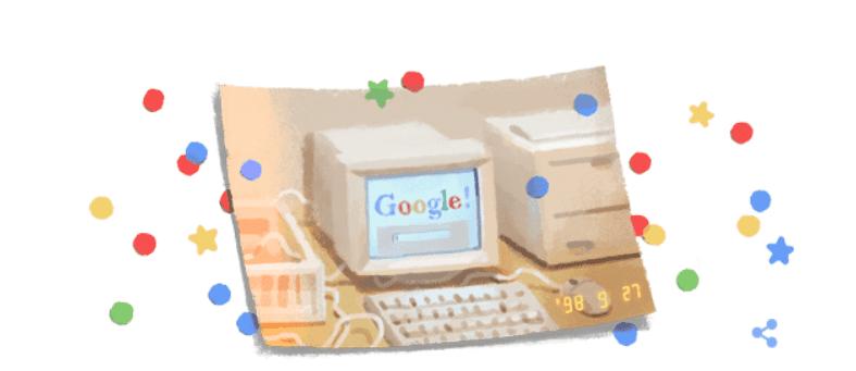 google komputer retro