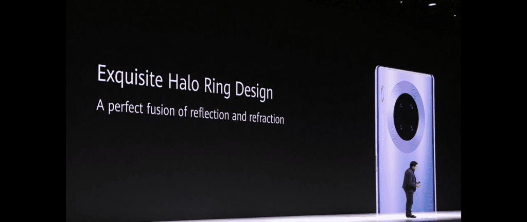 Design smartfona Huawei Mate 30 Pro