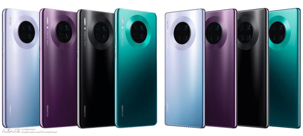 Huawei Mate 30 Pro kolory