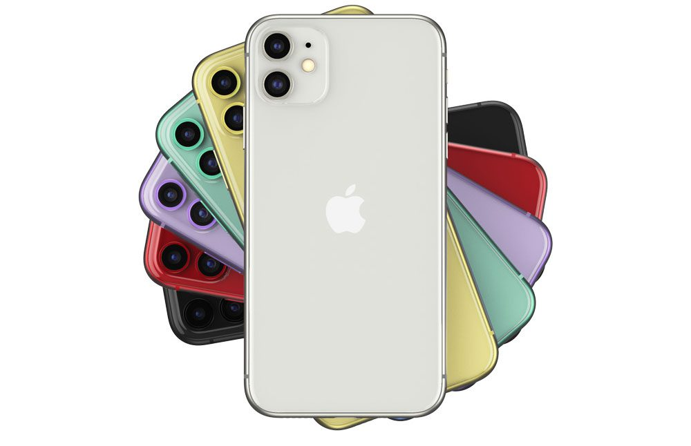 iphone 11 w 6 kolorach