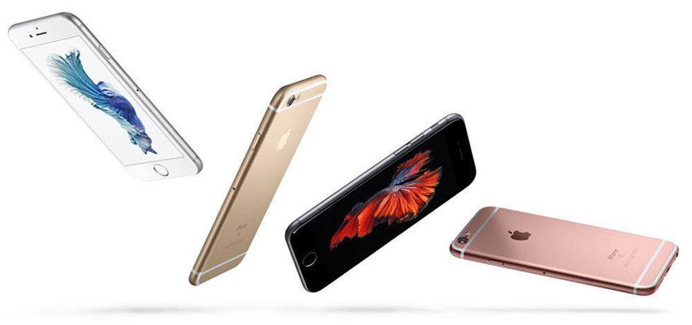 rodzina smartfonów iPhone 6s