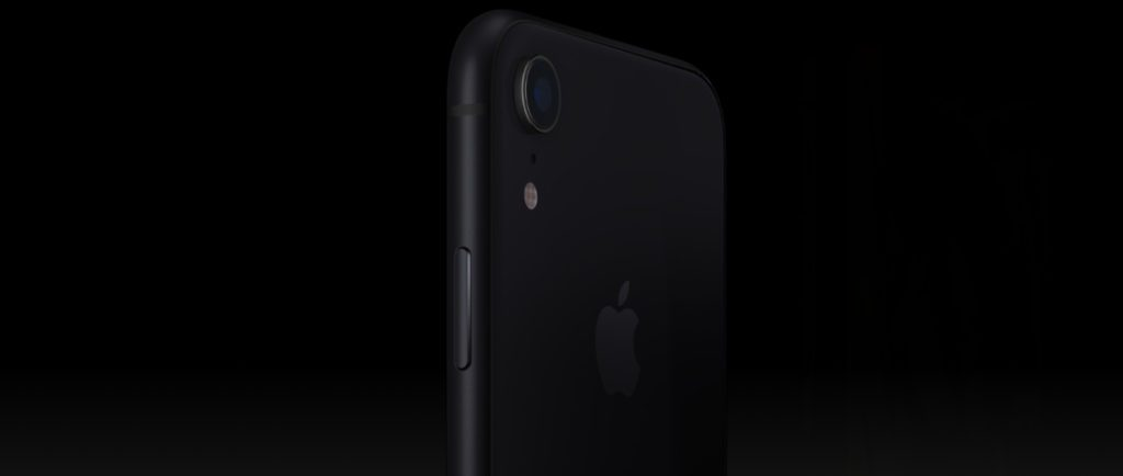 aparat główny iphone'a XR