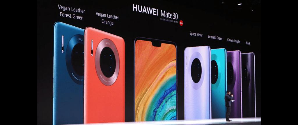 Kolory Huawei Mate 30 Pro