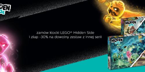 Kupujesz LEGO® Hidden Side, zyskujesz 30% rabatu na inny zestaw klocków