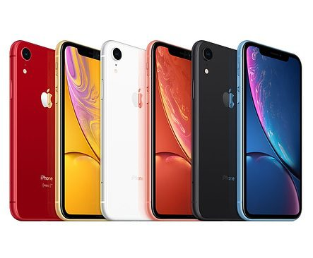 kolory iPhone'a XR