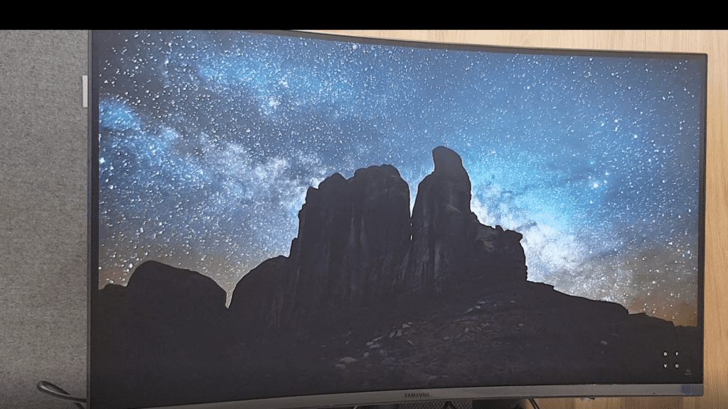 samsung curved 4k film
