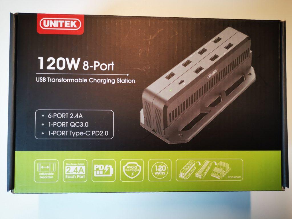 Stacja Ładująca Unitek 8x USB pudełko